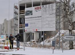 Vorbereitung der technischen Messung in Luckenwalde