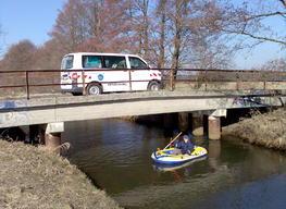 Ermittlung von Sohltiefen in der Gemeinde Niederer Fläming